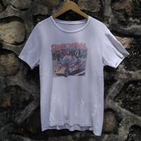 Kaos Dragonball Z Retro Vintage T-shirt Anime Akira