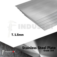 Plat Stainless 1.5mm   Stainless Steel Plate harga per 1 cm2