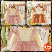 BAJU PESTA BAYI PEREMPUAN FASHION PREMIUM DRESS BABY IMPORT