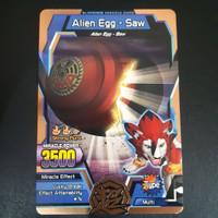 Strong Animal Kaiser Evolution Version 4 Miracle Card Alien Egg Saw