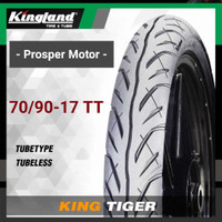 Ban Luar Tubetype Ring 17 70/90 70/90-17 TT King Tiger Kingland