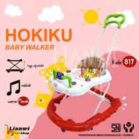 Baby Walker Hokiku 817 - baby walker belajar jalan bayi