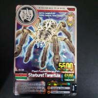Animal Kaiser Ver. 4 Starburst Tarantula Silver Rare