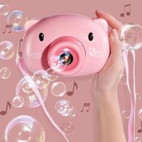 mainan buble camera animal / buble sabun balon
