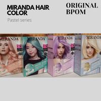 Miranda Hair Color Pastel Series + Ash Blonde 5.(permanen)