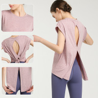 Baju olahraga wanita/ baju Fitnes/ baju gym/ baju lari quick dry loose