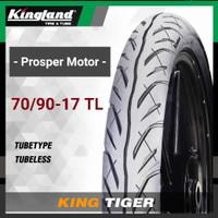 Ban Tubles Ring 17 70/90 80/90 TL King Tiger Kingland - 70/90