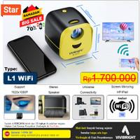Proyektor Mini WiFi L1 Vivibright Original | Proyektor Mini Portable
