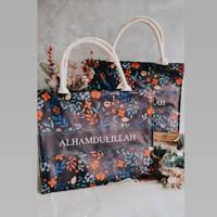 Tote Bag Tali Kanvas /souvenir tas /Hampers / Goddie Bag /Tas Custom