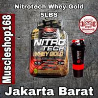 Muscletech Nitrotech Whey Gold 5.5lbs Nitrotech Whey Gold 6lbs - Strawberi