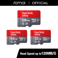 Sandisk Ultra Micro SD UHS-I A1 120MBps 32GB & 64GB & 128GB