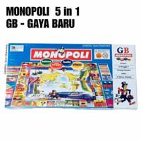 Monopoli 5 in 1 (GB)