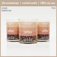 COFFEE 75ml | Lilin Aromaterapi | Aroma Terapi | Scented Candle