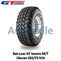 Ban Luar GT 265/75 R16 Savero MT Tubeless Radial M/T Mobil SUV Offroad