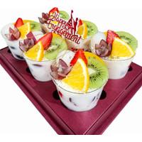 Hampers Salad Buah Premium in Cup