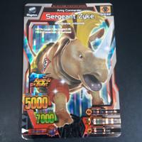 Strong Animal Kaiser Evolution Version 4 Sergeant Zyke Silver Rare