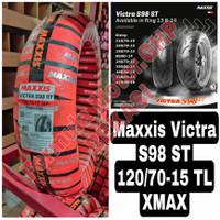 120/70-15 Maxxis Victra Ban Motor Ring 15 Tubeless - Ban Depan XMAX