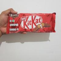 Cokelat Finger Kitkat Multipack 2 F isi 6 pcs ( 6 x 17g )