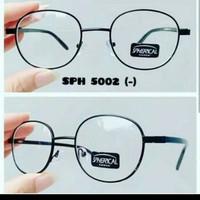 Kacamata bulat oval minus trandy masa kini