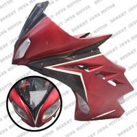 Full Fairing Sayap Body + Lampu Set Depan Vixion Model Ninja 250 - Mer