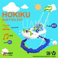 Baby Walker Hokiku 817 - baby walker belajar jalan bayi - Biru