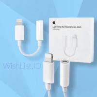converter audio iPhone 7 lighting to jack 3,5 original AUTHENTIC