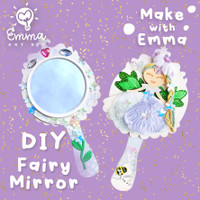Fairy Mirror by Emma Art Kit. Complete Craft Set for Kids. NEW!