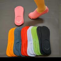 3pasang kaos kaki hidden balet dewasa semata kaki warna polos