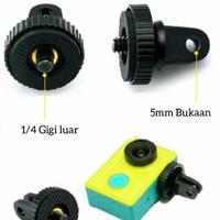 gopro mount screw 1/4 inch adapter ongsis monopod attanta