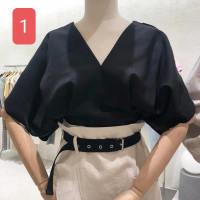 Atasan Wanita Baju Lengan Pendek Perempuan Import - 01