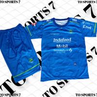 baju Jersey setelan PERSIB FC Bandung, baju Jersey bola setelan anak