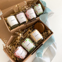 the Kandley   GIFT SET Lilin Aromaterapi Soy Scented Candle