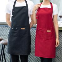 Gudang Apron Waterproof Celemek Masak Dapur Pria Wanita Chef Pelayan