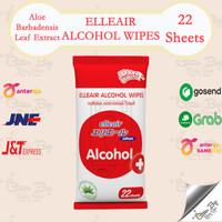 Tisu Basah Alkohol Wipes Elleair 22 sheets