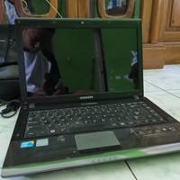 Laptop Notebook Samsung Core i3 R439 Minus Blank Hitam