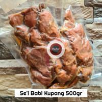 Se'i Babi Asap Kupang / Se'i Babi Kupang - 500gr