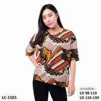 Blouse Batik Wanita / Baju Batik Wanita / Blouse Batik Cewek Jumbo Big