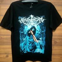 Distro kaos gothic metal Indonesia / kebadian yg tak nyata /terlaris - L