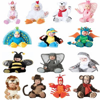 IH Kostum Hewan Anak Bayi Karakter Animal 3 Bagian / Topi+Baju+Sepatu