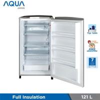 Freezer Berdiri AQUA AQF-S4 | Upright 1 pintu stand aqfs4 4 rak asi