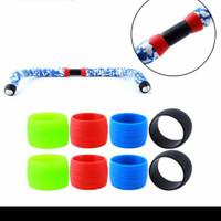 Karet Silicone Plug Rubber Road Bike Bar Tape sepeda silikon bartape
