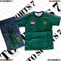 baju kaos Jersey setelan timnas indonesia, baju bola setelan anak