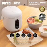 Mito R11 Portable Digital Mini Rice Cooker 0.5 L 350 Watt 4in1 R-11
