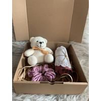 Parsel ramadan giftbox hijab scrunchies / hampers lebaran ultah