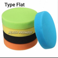 5 Pcs [5 inch] Sponge Polishing (Only Sponge)/Waxing/Busa Poles Mobil - FLAT