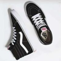 sepatu vans sk8 hitam putih ukuran 37 - 45