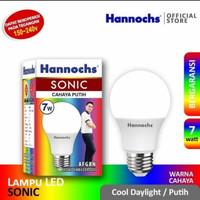 Lampu LED Hannochs Sonic 7 Watt - Cahaya Putih - SNI