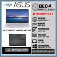 ULTRABOOK ASUS ZENBOOK UX425E BM552TS 1135G7 8GB 512GB SSD LILAC MIST