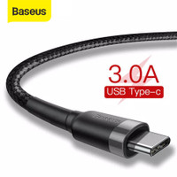 KABEL DATA TYPE-C BASEUS CAFULE CABLE FOR TYPE-C 3A 1M