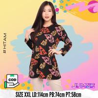 Baju Kaos Atasan Wanita Lengan Panjang Jumbo Janda Bolong JF-PABLO